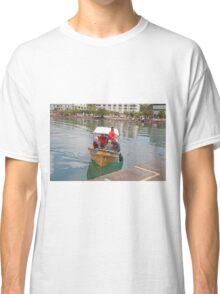 Small boat in St Lucia Classic T-Shirt