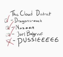Do you get to the cloud district very often? T-Shirt