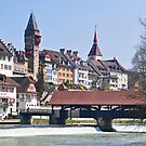 Bremgarten at early Spring by Rosy Kueng