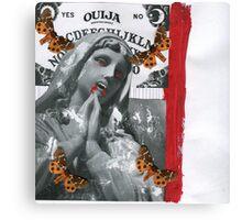 OUIJA sillence Canvas Print