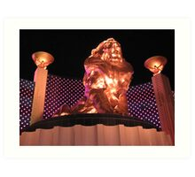 Las Vegas MGM Grand Art Print