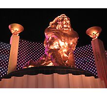 Las Vegas MGM Grand Photographic Print