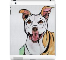 #2: HONEY the Tripawd Pitbull: Messages from the Dogs Oracle Deck iPad Case/Skin