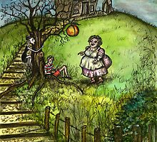 James and the Giant Peach by Elle J Wilson