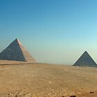 Pyramids at Giza by Sheila Laurens