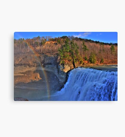 Letchworth State Park X HDR Canvas Print