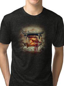 Sengoku Basara - Sanada Yukimura Tri-blend T-Shirt