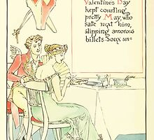 A Masque of Days - From the Last Essays of Elia 1901 illustrated by Walter Crane 42 - Valentine's Day by wetdryvac