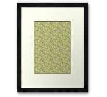 Yellow Headed Monster Framed Print