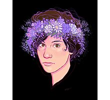 Ryan Flower Crown  Photographic Print