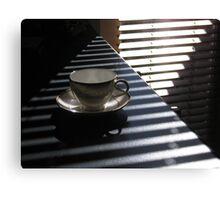 pyramid tea cup  Canvas Print