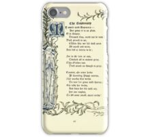 The Old Garden and Other Verses by Margaret Deland and Wade Campbell, Illustrated by Walter Crane 1894 60 - The Rosemary iPhone Case/Skin