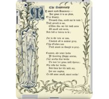 The Old Garden and Other Verses by Margaret Deland and Wade Campbell, Illustrated by Walter Crane 1894 60 - The Rosemary iPad Case/Skin