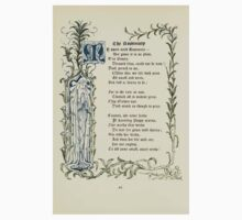 The Old Garden and Other Verses by Margaret Deland and Wade Campbell, Illustrated by Walter Crane 1894 60 - The Rosemary Kids Tee