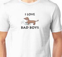"""I Love Bad Boys"" Unisex T-Shirt"