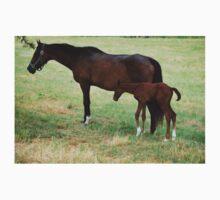 Mom & Baby Horse Kids Tee