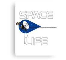 Space Life Canvas Print