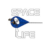 Space Life Photographic Print