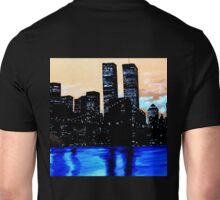 The Twin Towers at Night Unisex T-Shirt