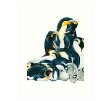 Penguin Dream Art Print