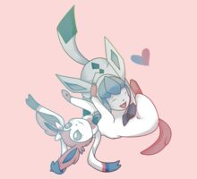 Glaceon and Sylveon Kids Clothes