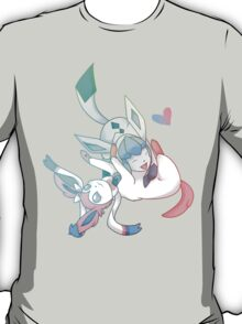 Glaceon and Sylveon T-Shirt