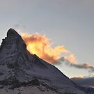 Burning Matterhorn by Rosy Kueng