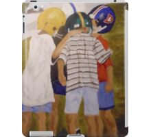 Saturday Morning Game iPad Case/Skin