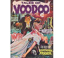 Voodoo Art Tee Photographic Print