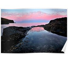 Rockpool Reflections Poster