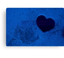 Bluebubble Heart <3 Canvas Print