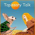 Tapissary Talk Logo by moltencrayons