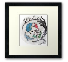 Over The Garden Wall 'Lost In The Woods' Fanart Framed Print