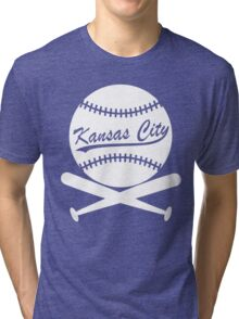 Kansas City Baseball Tri-blend T-Shirt