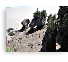Fundy Bay Canvas Print
