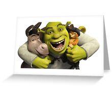 Shrek love Greeting Card