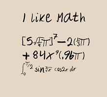 I Like Math T-Shirt