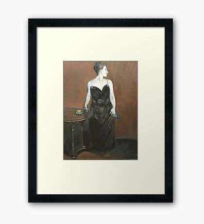 Madame XXL Framed Print