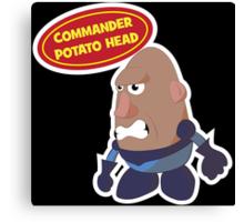Commander Potato Head Canvas Print