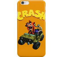Crash Bandicoot - Jeep  iPhone Case/Skin