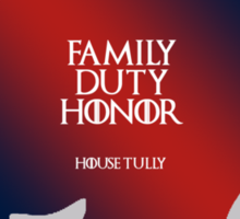 House Tully Sticker