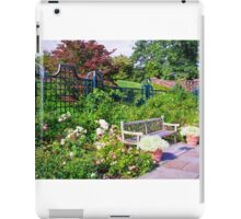 Tranquil Rose Garden  iPad Case/Skin