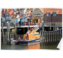 The Whitby Lifeboat Poster