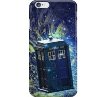 Doctor Who - Tardis in the Space iPhone Case/Skin