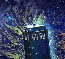 Doctor Who - Tardis in the Space by TylerMellark