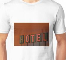 Sunset Hotel Unisex T-Shirt