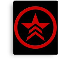 Mass Effect - Bad Karma Symbol Canvas Print
