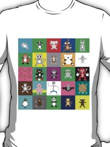 Multiple Hugimals T-Shirt
