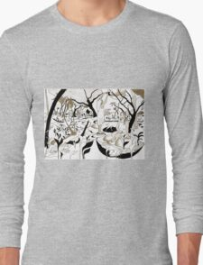 Fruit picking under a tree Long Sleeve T-Shirt