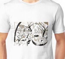 Fruit picking under a tree Unisex T-Shirt